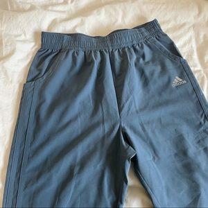 Blue Adidas Activewear Pants